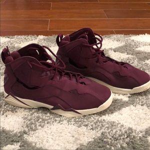 Purple Jordan Retro 7's